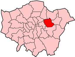 Image shows a map of London with Newham highlighted.