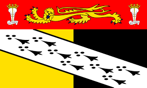 Image shows the flag on Norfolk